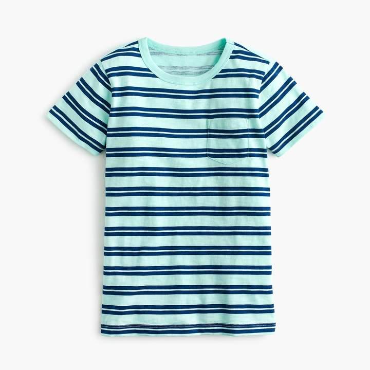 Boys' striped pocket T-shirt