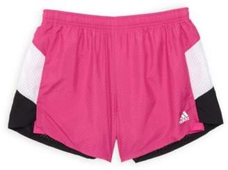 adidas Girl's Perforated Shorts