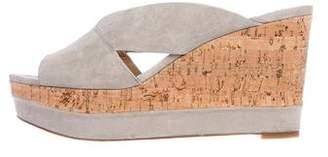 Diane von Furstenberg Monaco Slide Wedges