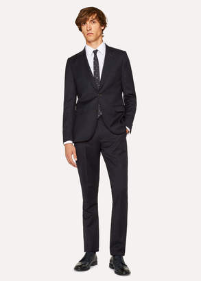 Paul Smith Men's Slim-Fit Dark Navy Wool Suit