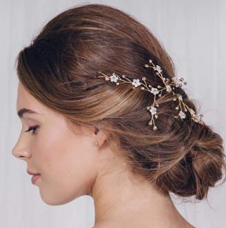 Carlisle Debbie Small Gold, Silver Or Rose Gold Wedding Hair Vine Ivy