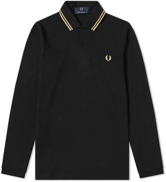 Fred Perry Reissues Long Sleeve Original Twin Tipped Polo