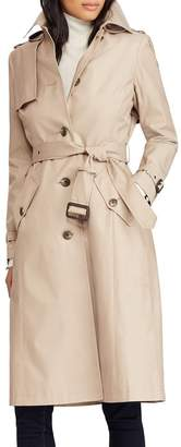 Lauren Ralph Lauren Hooded Trench Coat
