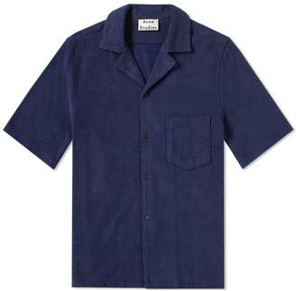 Acne Studios Short Sleeve Jeff Towel Vacation Shirt