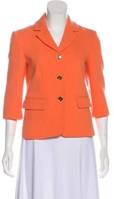Michael Kors Formal Virgin Wool Blazer
