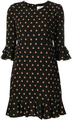 Diane von Furstenberg Elly printed mini dress