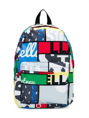 Stella McCartney multi print backpack