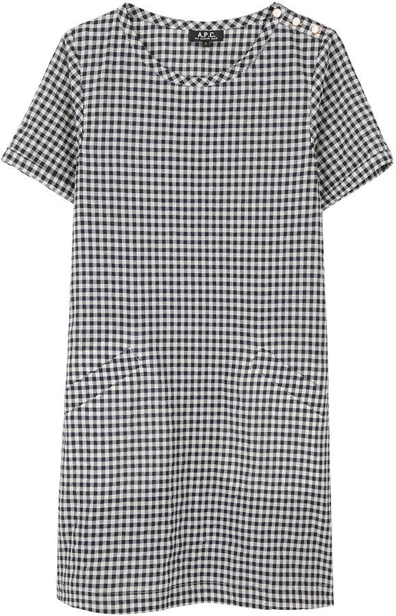 A.P.C. / Gingham Cotton Dress