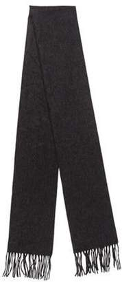 Sofia Cashmere Cashmere Knit Scarf Grey Cashmere Knit Scarf
