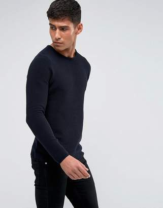 Tokyo Laundry Ribbed Knit Sweater