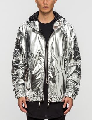 Represent Clothing Zip Rain Jacket $240 thestylecure.com