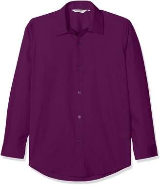 Trutex Clive James Clynick Boy's 2pk E/C L/S Contemp Shirt