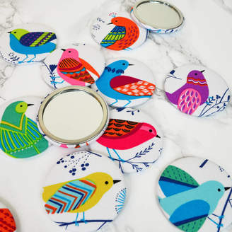 Jenny Arnott Cards & Gifts ''Birds'' Pocket Mirror