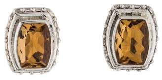 Stephen Dweck Citrine Clip-On Earrings