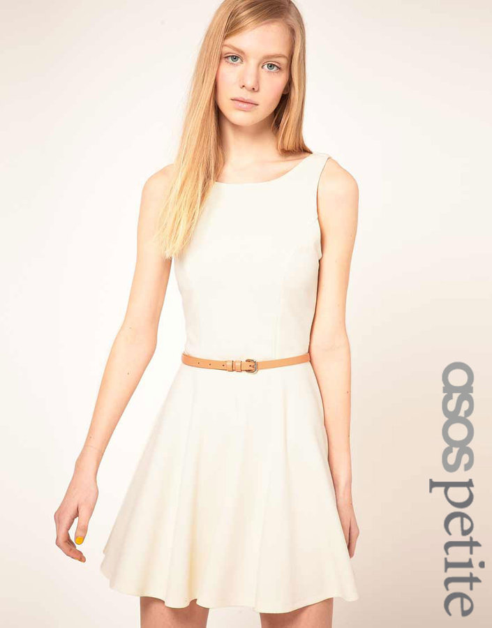 Asos Skater dress With Low Bow Back