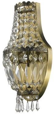 clear Astoria Grand Weisser 3-Light Antique Bronze Crystal Wall Sconce Astoria Grand