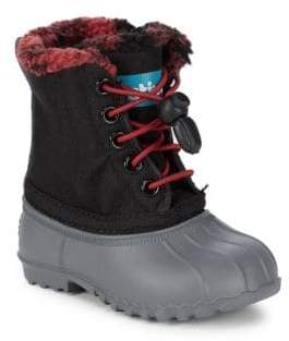 Native Boy's Winter Boots
