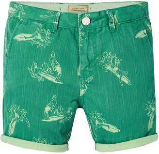 Scotch & Soda Surf Print Shorts