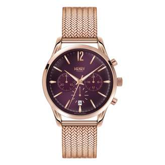 Henry London - Ladies 39mm Hampstead Chronograph Stainless Steel Bracelet Watch