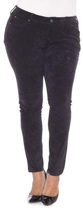 SLINK JEANS Slink Sueded Skinny Jeans (Plus Size)