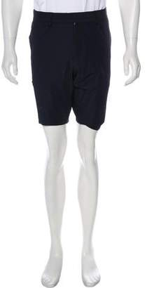 Moncler Bermuda Grosgrain-Trimmed Short