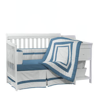 Baby Doll Bedding BabyDoll Bedding 4 Piece Crib Bedding Set