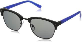 Calvin Klein Men's R736s Oval Sunglasses