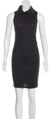 Helmut Lang Sleeveless Wool Mini Dress