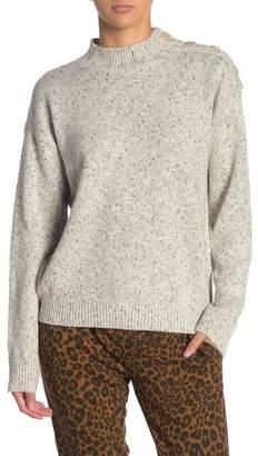 Sanctuary Jasper Button Shoulder Sweater