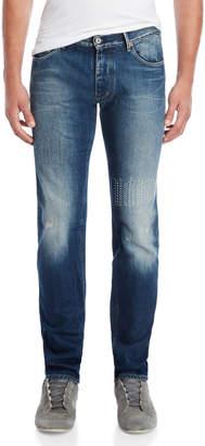 Armani Jeans J28 Slim Fit Contrast Stitch Jeans