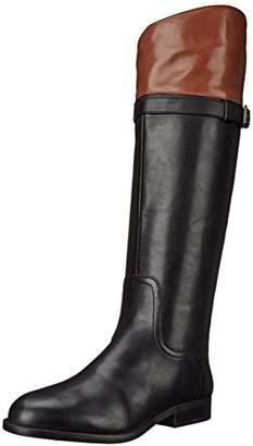 Nine West Women's Velika Leather Knee High Boot