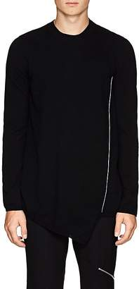 Comme des Garcons Men's Asymmetric Wool Sweater