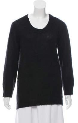 Burberry Long Sleeve V-Neck Sweater
