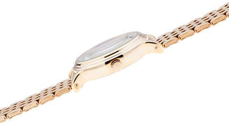 Disney Mickey Mouse Womens Gold Tone Bracelet Watch-Wds000686
