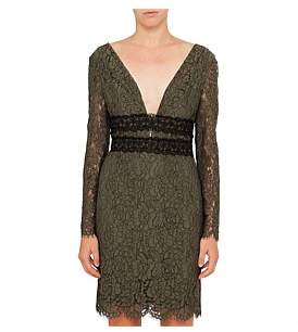 Diane von Furstenberg Viera Lace Long Sleeve Dress