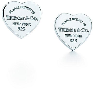 Tiffany & Co. Return to Mini Heart Tag Earrings