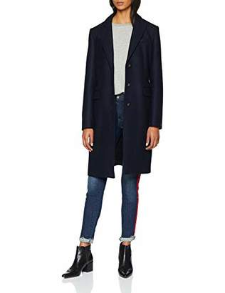 Tommy Hilfiger Women's Belle Classic Wool Coat(Size: 6)