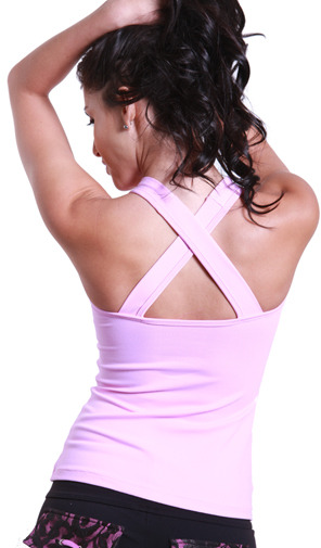 Body Angel Activewear Tied Bow Long Top