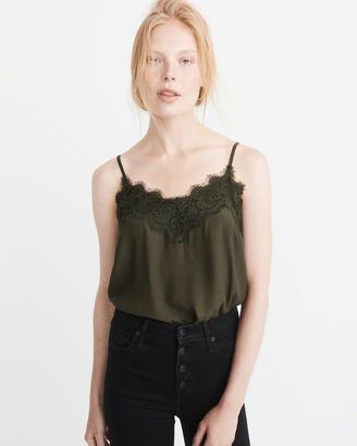 Lace-Trim Cami $28 thestylecure.com