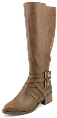 Mia Noralee Women Round Toe Synthetic Black Knee High Boot