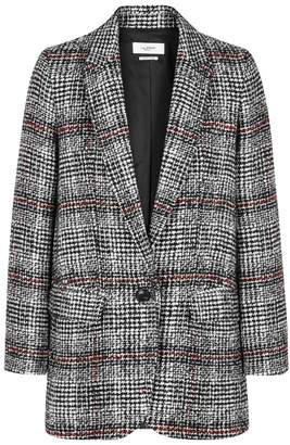 Etoile Isabel Marant Ice Checked Tweed Blazer