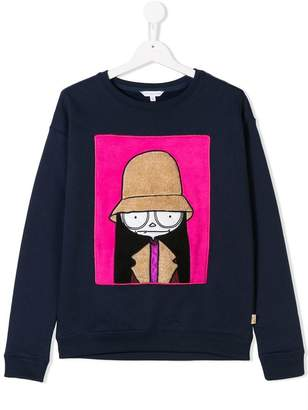 Little Marc Jacobs TEEN Miss Marc sweatshirt