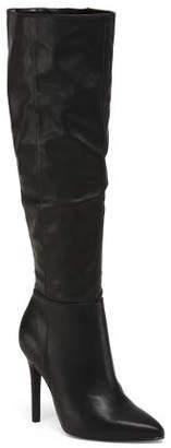 Stiletto Heel Knee High Boots