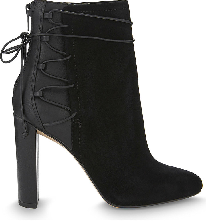 AldoAldo Taessa suede and synthetic ankle boots