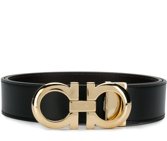 75c6527c4 Salvatore Ferragamo double Gancio buckle belt
