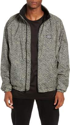 Obey Lense Leopard Print Jacket