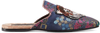 Jacquard evening slipper with Donald Duck $1,690 thestylecure.com