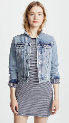 A Gold E AGOLDE Reputation Shrunken Jean Jacket
