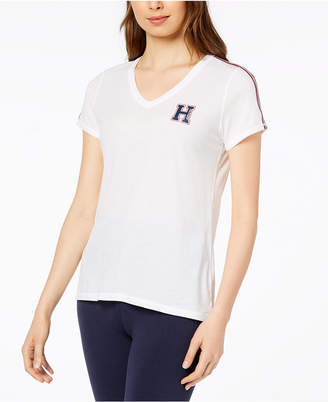 Tommy Hilfiger V-Neck Logo T-Shirt, Created for Macy's