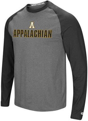 Colosseum Men's Appalachian State Mountaineers Social Skills Long Sleeve Raglan Top